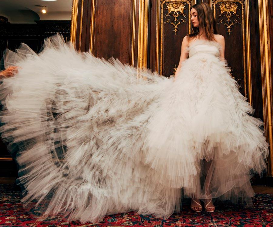 самые красивые свадебные платья 2018 43