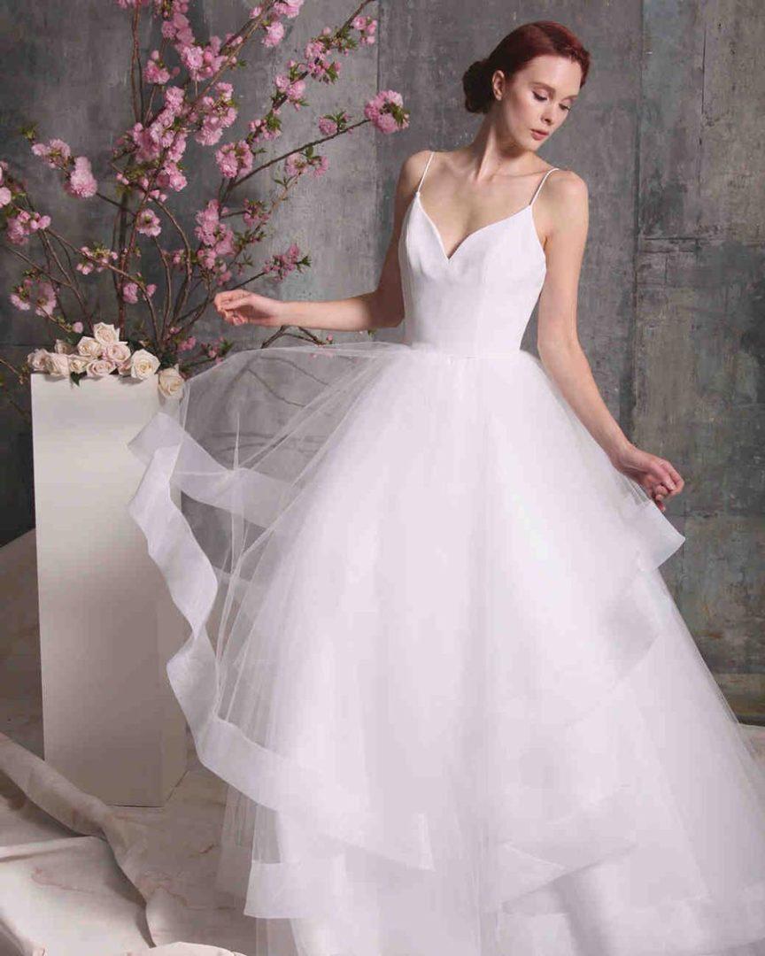 самые красивые свадебные платья 2018 5