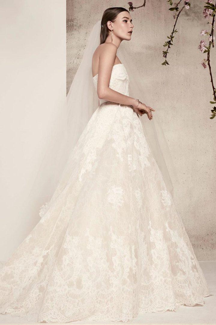 самые красивые свадебные платья 2018 6