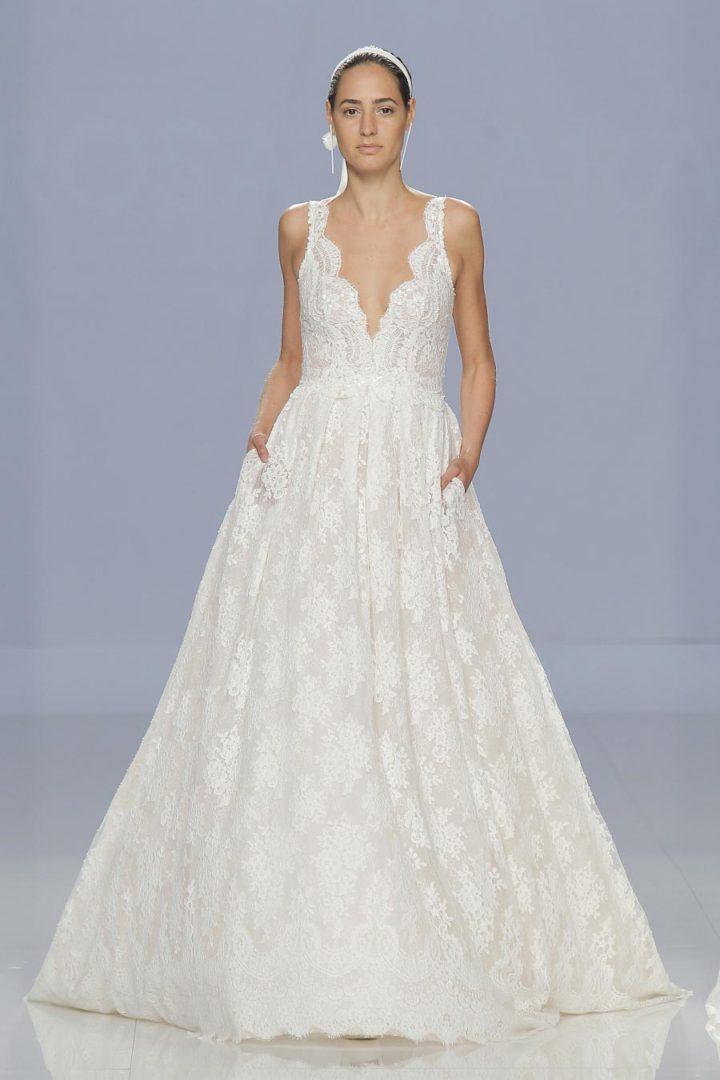 самые красивые свадебные платья 2018 9