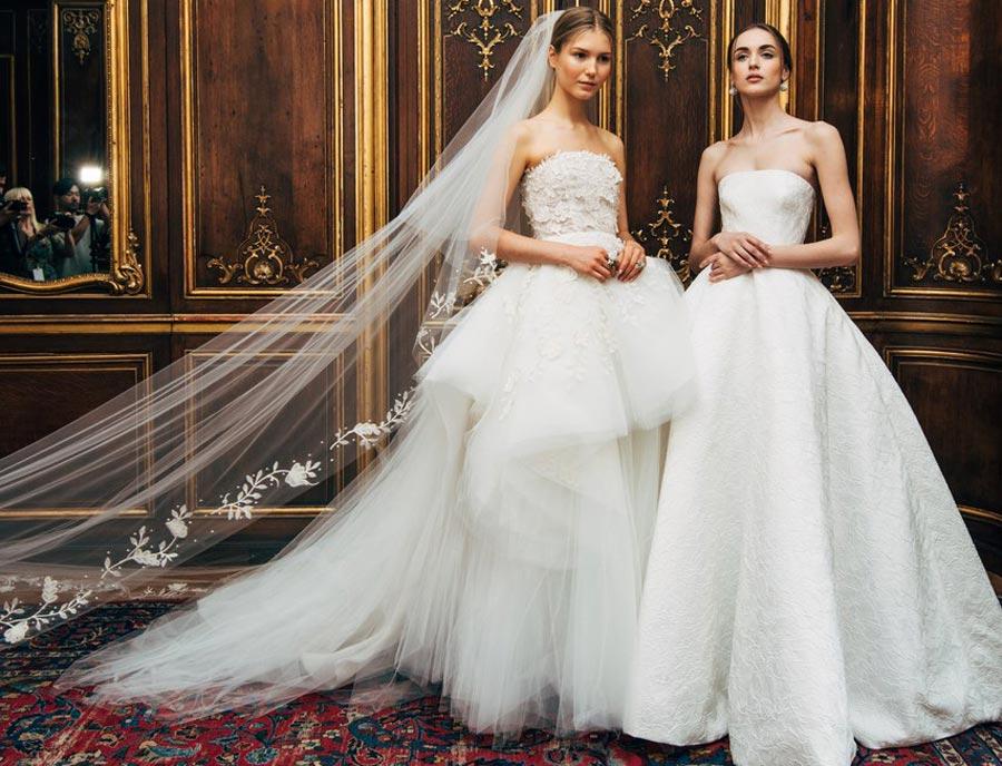 свадебные платья 2018: главные тенденции 1