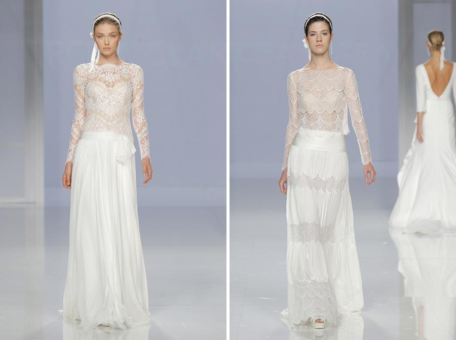 свадебные платья 2018: главные тенденции 12