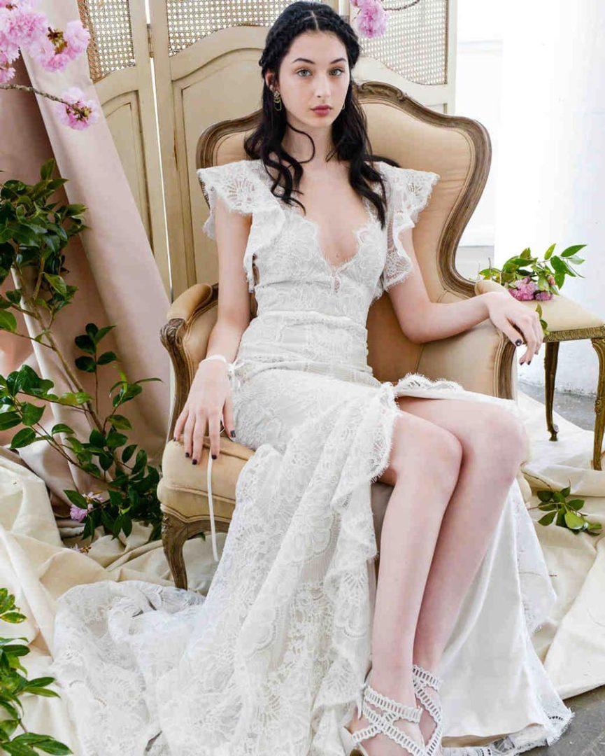 свадебные платья 2018: главные тенденции 14