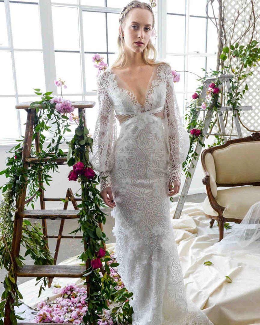 свадебные платья 2018: главные тенденции 15