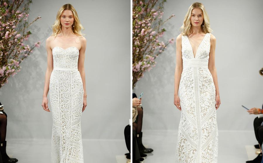 свадебные платья 2018: главные тенденции 17
