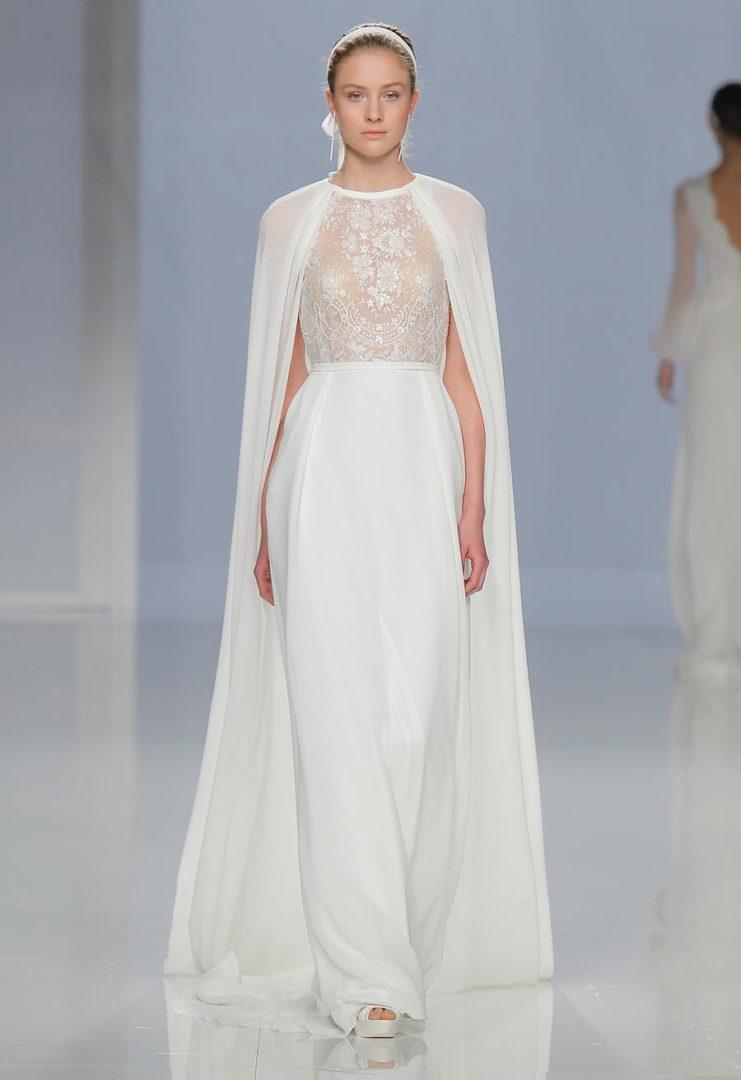 свадебные платья 2018: главные тенденции 18