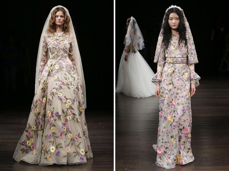 свадебные платья 2018: главные тенденции 2