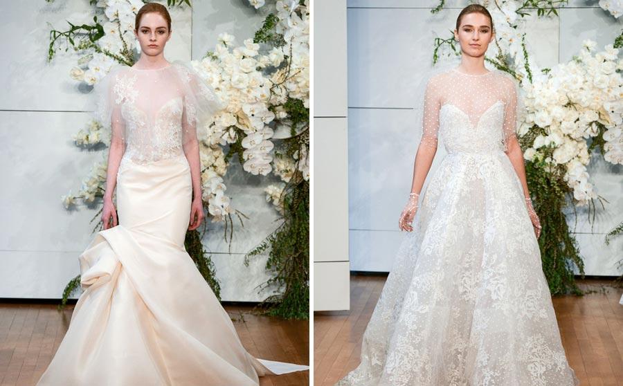 свадебные платья 2018: главные тенденции 20