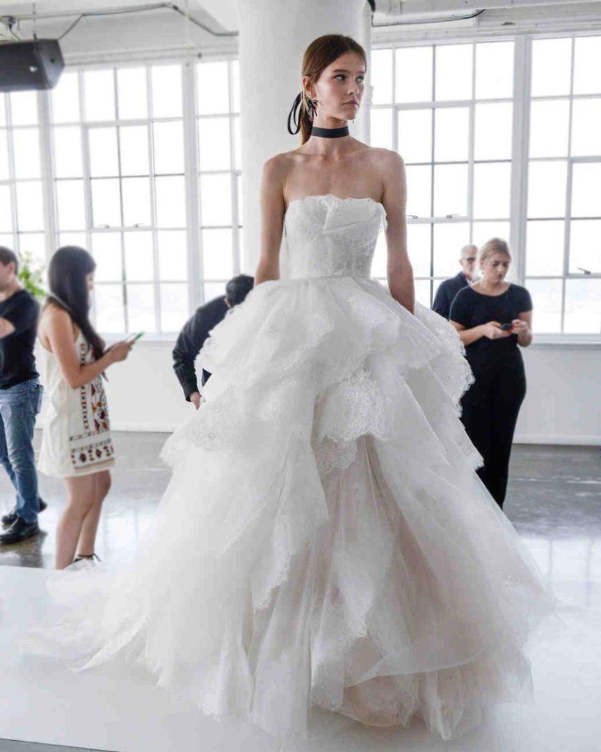 свадебные платья 2018: главные тенденции 22