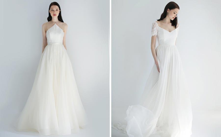 свадебные платья 2018: главные тенденции 25
