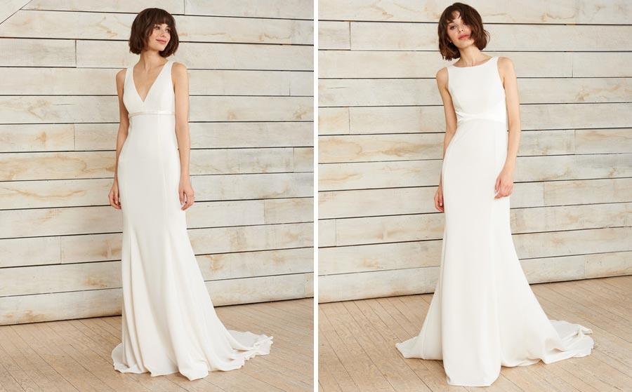 свадебные платья 2018: главные тенденции 28