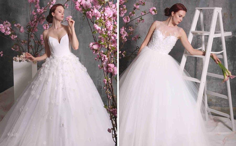 свадебные платья 2018: главные тенденции 3