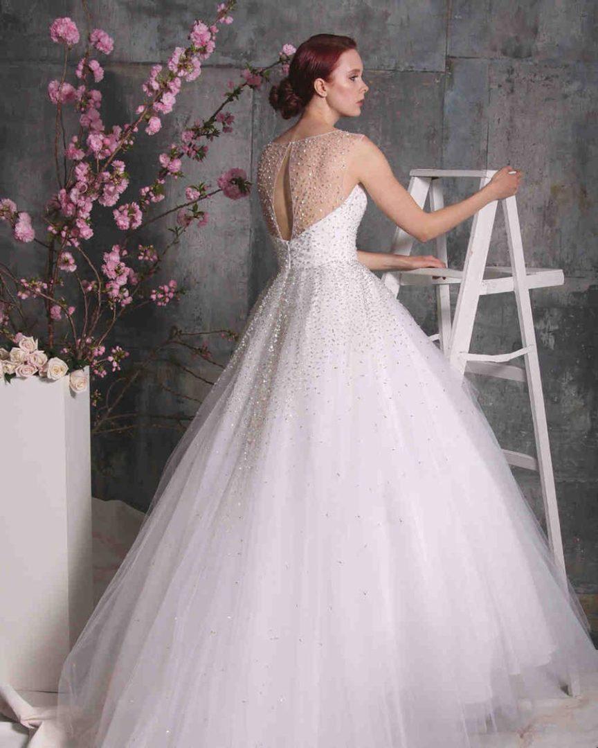 свадебные платья 2018: главные тенденции 30