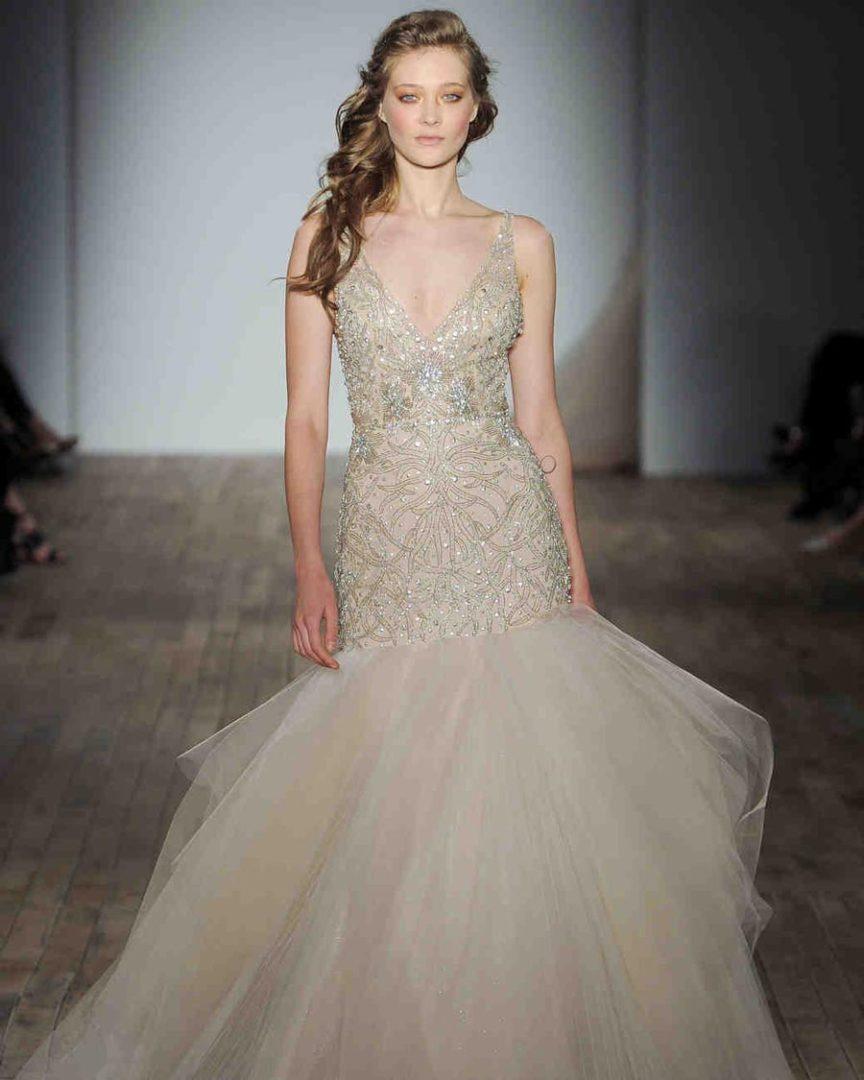 свадебные платья 2018: главные тенденции 32