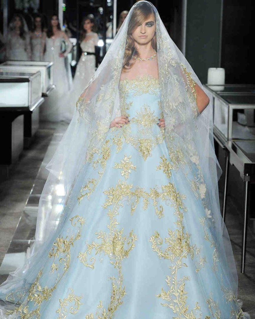 свадебные платья 2018: главные тенденции 34