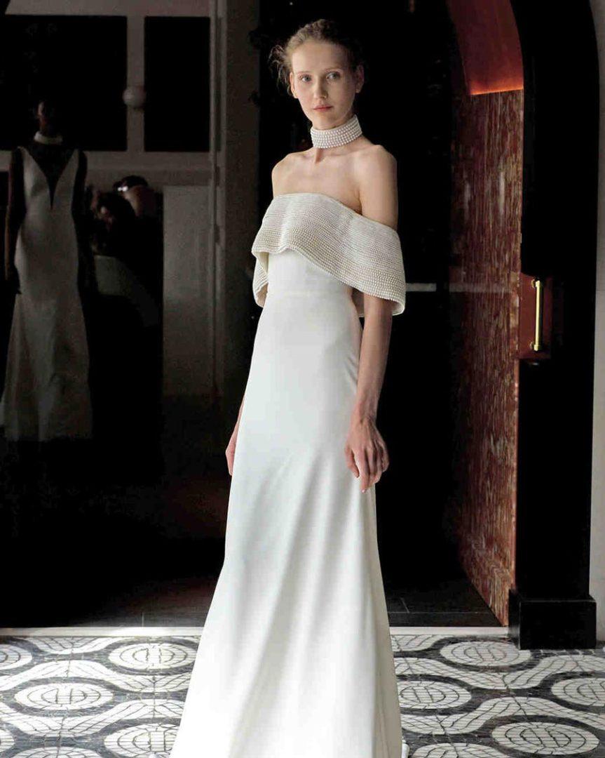 свадебные платья 2018: главные тенденции 35