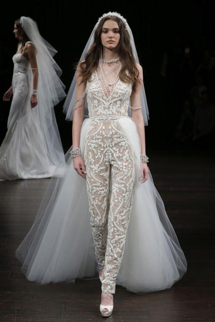 свадебные платья 2018: главные тенденции 37