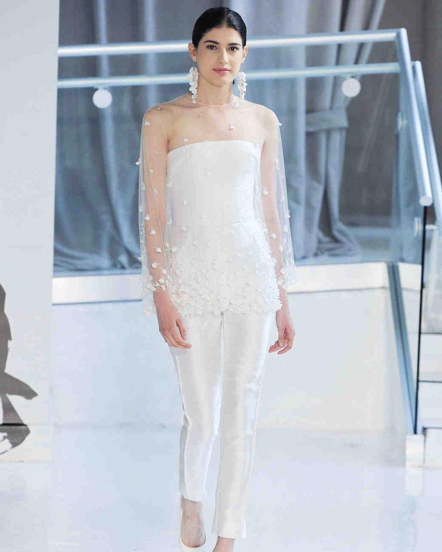 свадебные платья 2018: главные тенденции 38