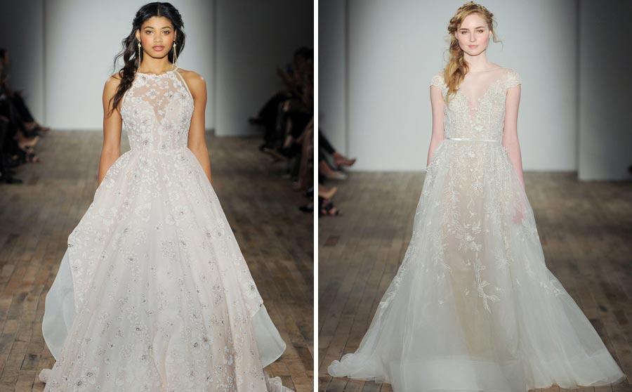 свадебные платья 2018: главные тенденции 4