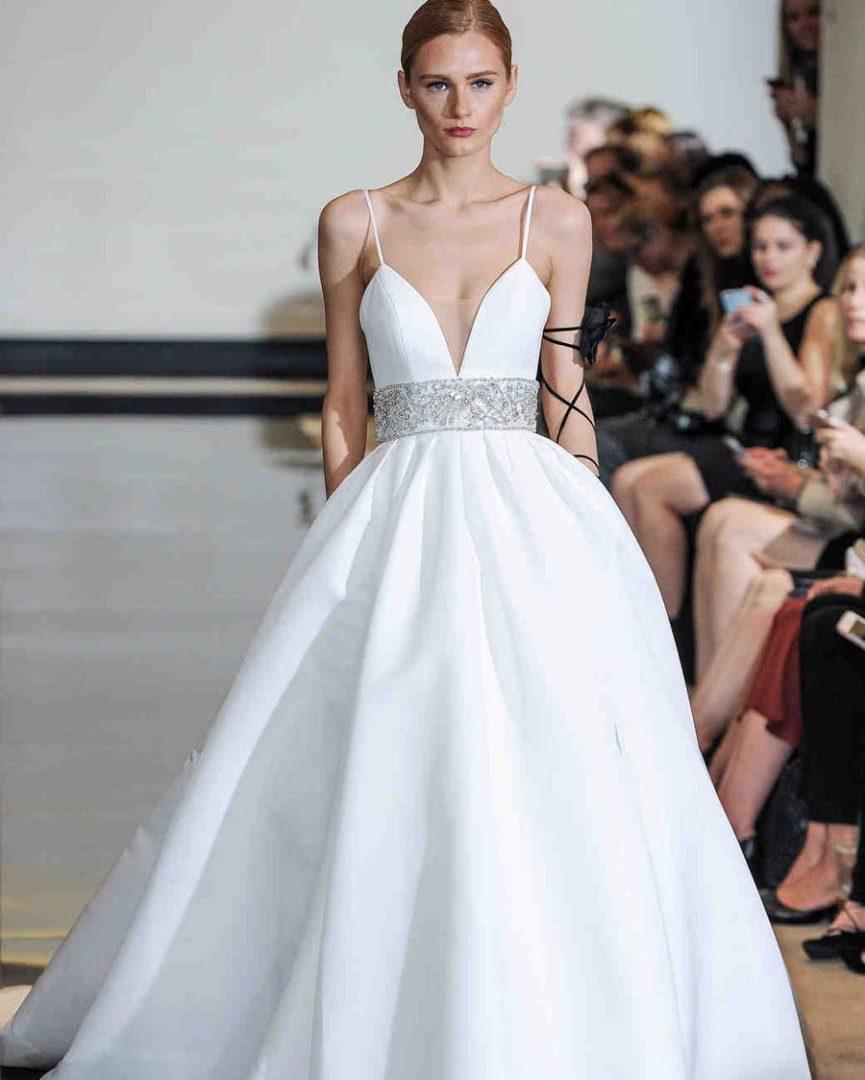свадебные платья 2018: главные тенденции 40
