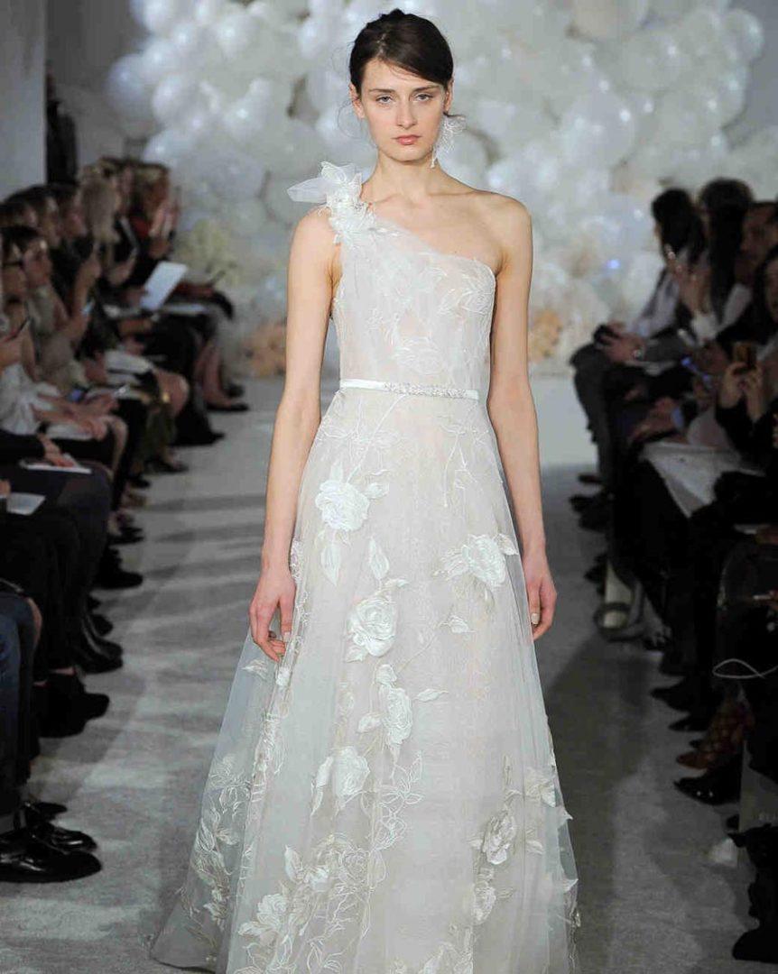свадебные платья 2018: главные тенденции 41