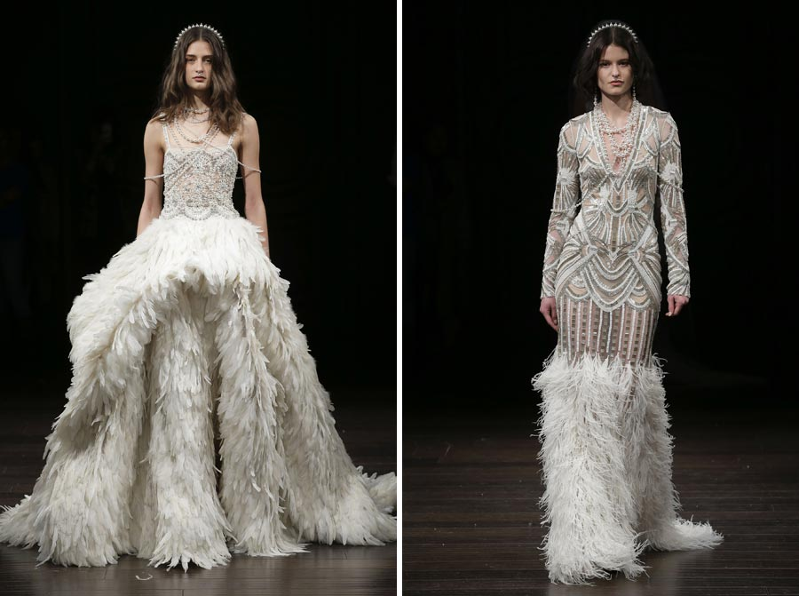 свадебные платья 2018: главные тенденции 42