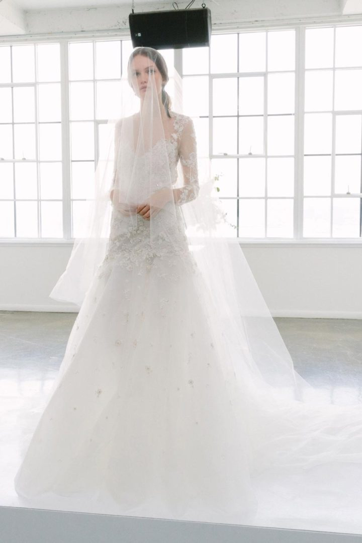 свадебные платья 2018: главные тенденции 48