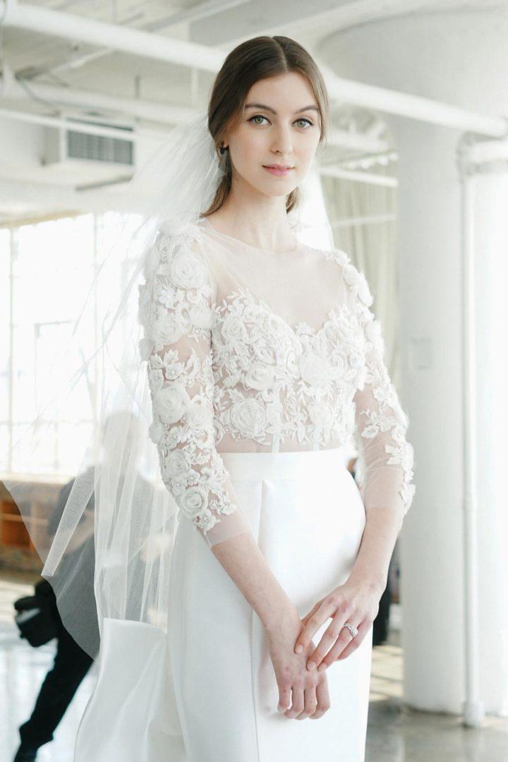свадебные платья 2018: главные тенденции 49