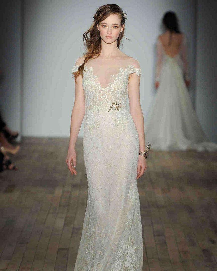 свадебные платья 2018: главные тенденции 5