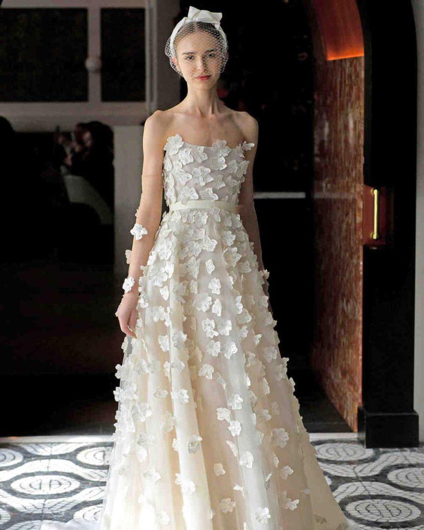 свадебные платья 2018: главные тенденции 7