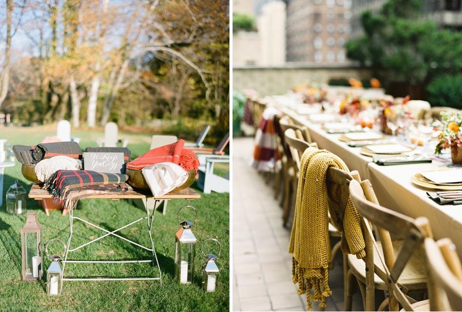 15 идей для уютной осенней свадьбы 4