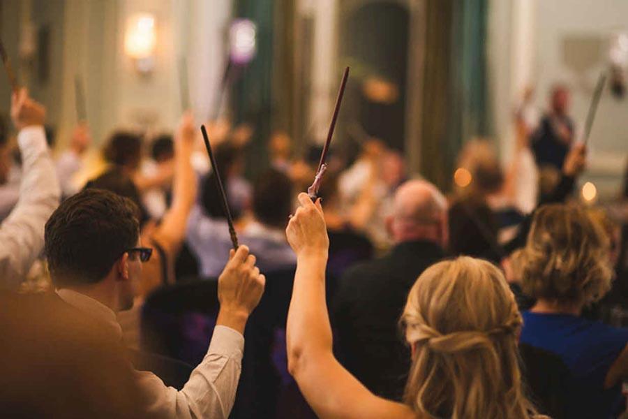 свадьба в стиле гарри поттер 19