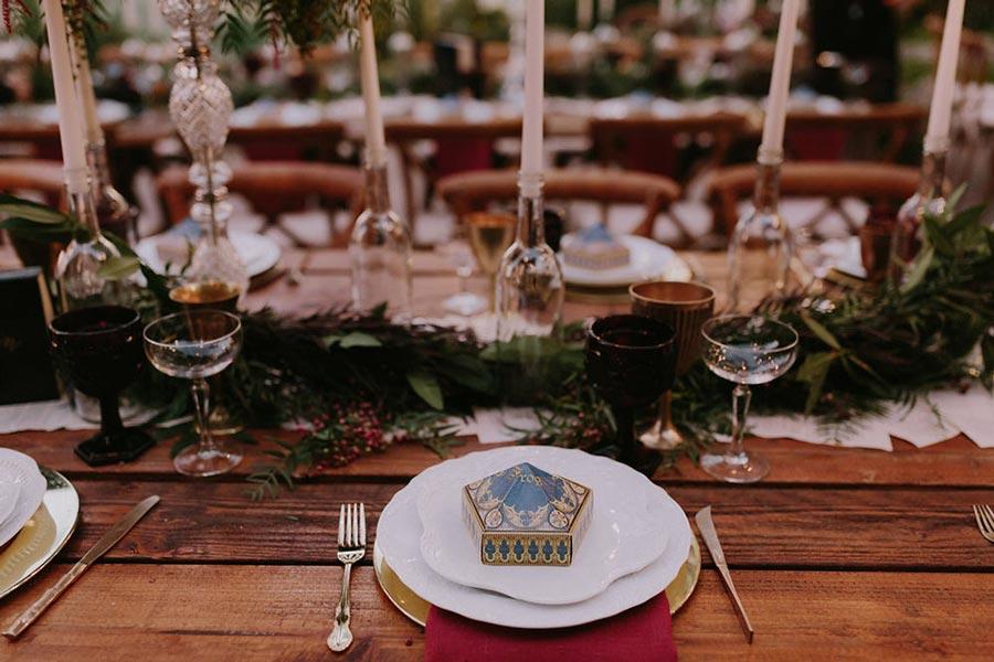 свадьба в стиле гарри поттер 8