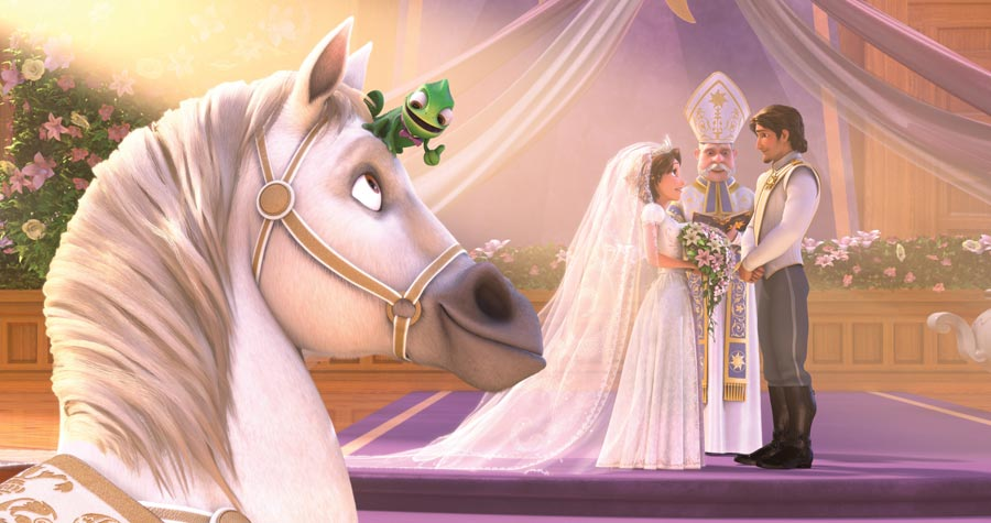 как организовать свадьбу в стиле рапунцель 2