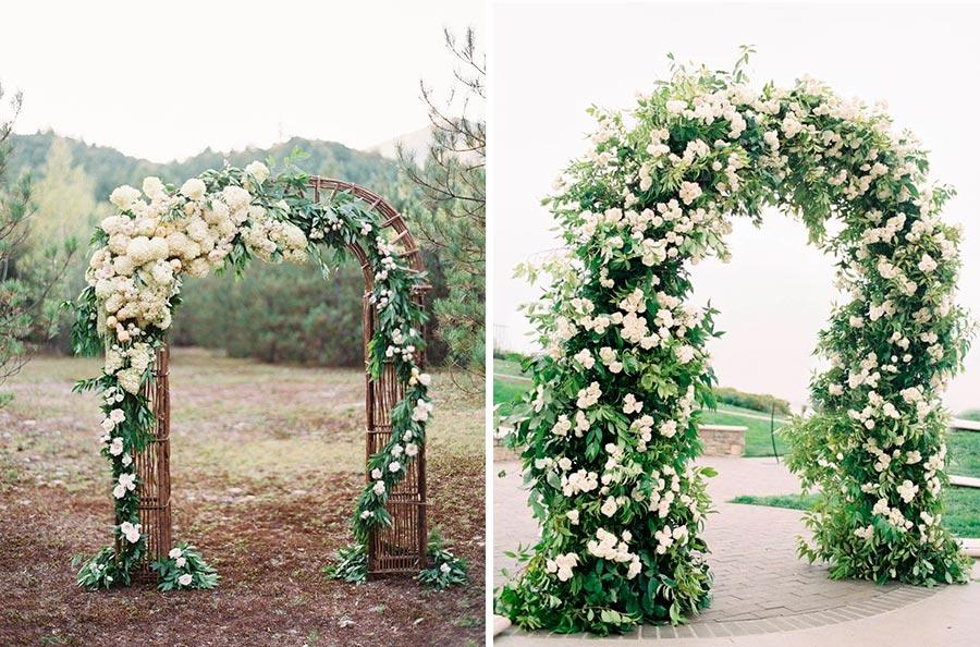17 идей оформления свадьбы цветами 2