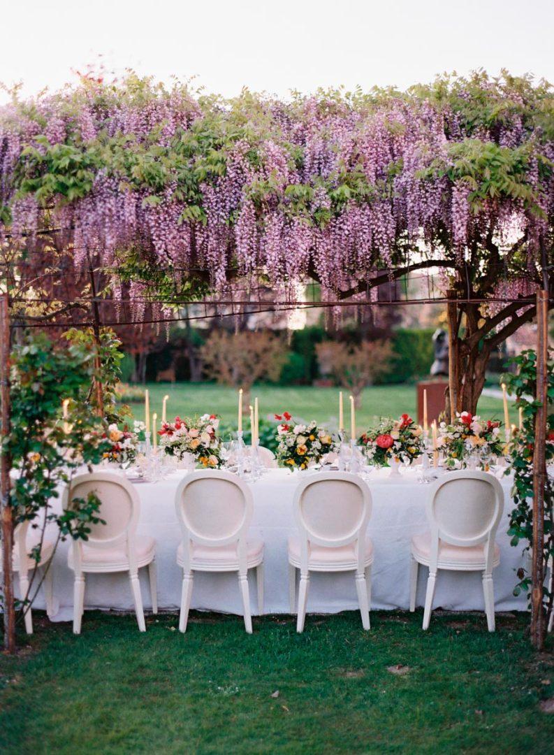 17 идей оформления свадьбы цветами 7