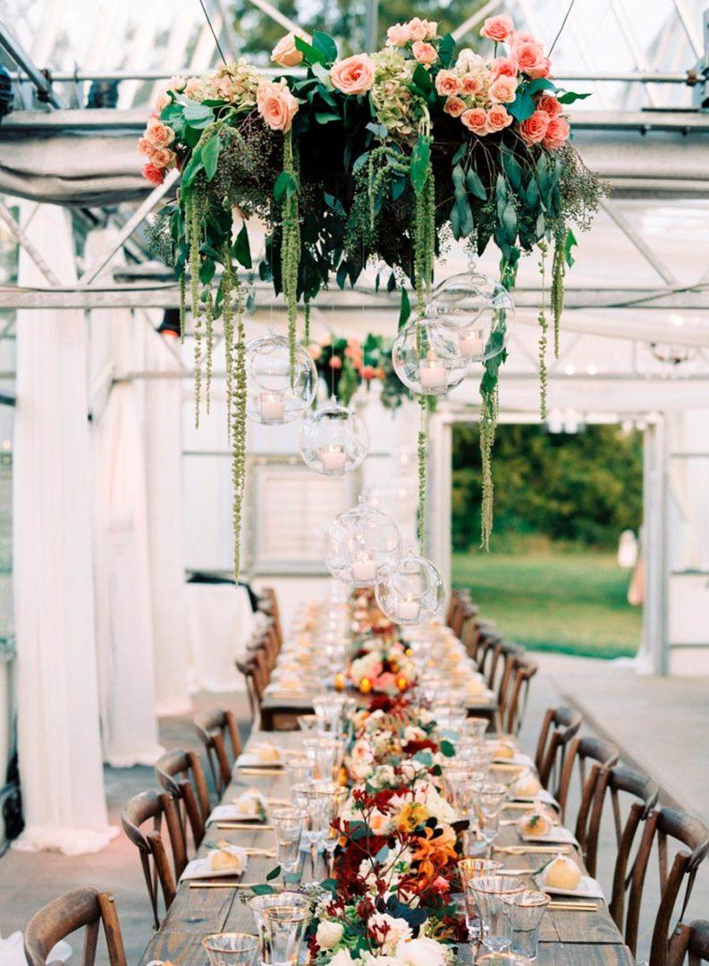 17 идей оформления свадьбы цветами 8