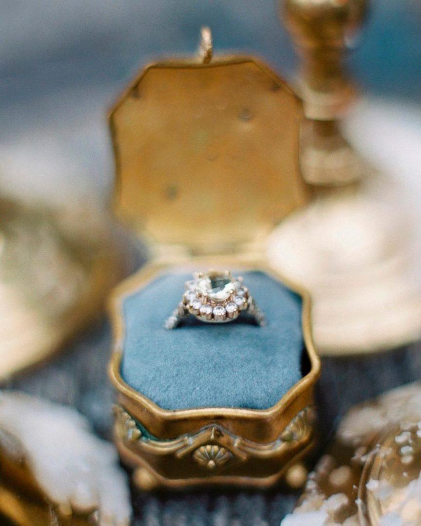 помолвочные кольца в стиле принцесс disney 1