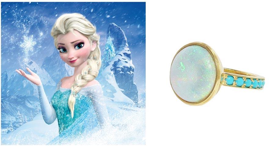 помолвочные кольца в стиле принцесс disney 2