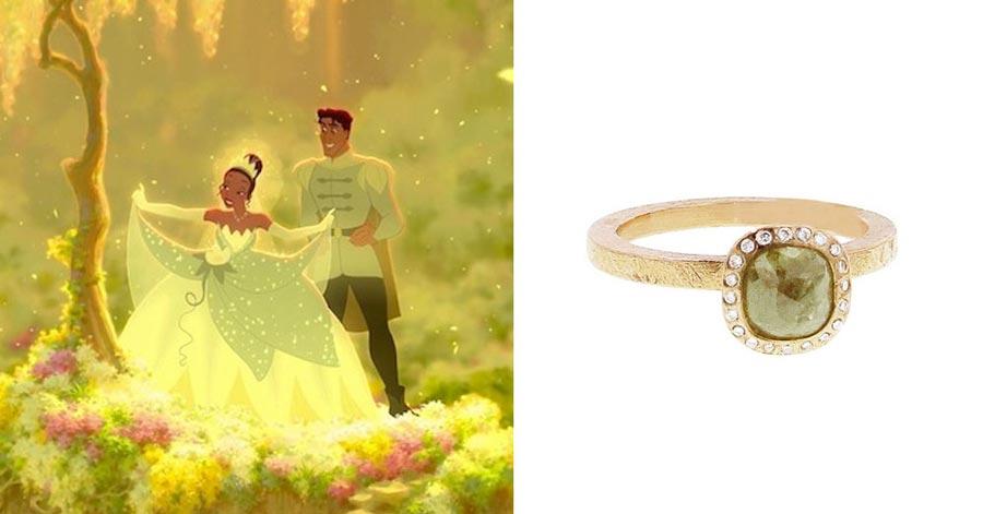 помолвочные кольца в стиле принцесс disney 3