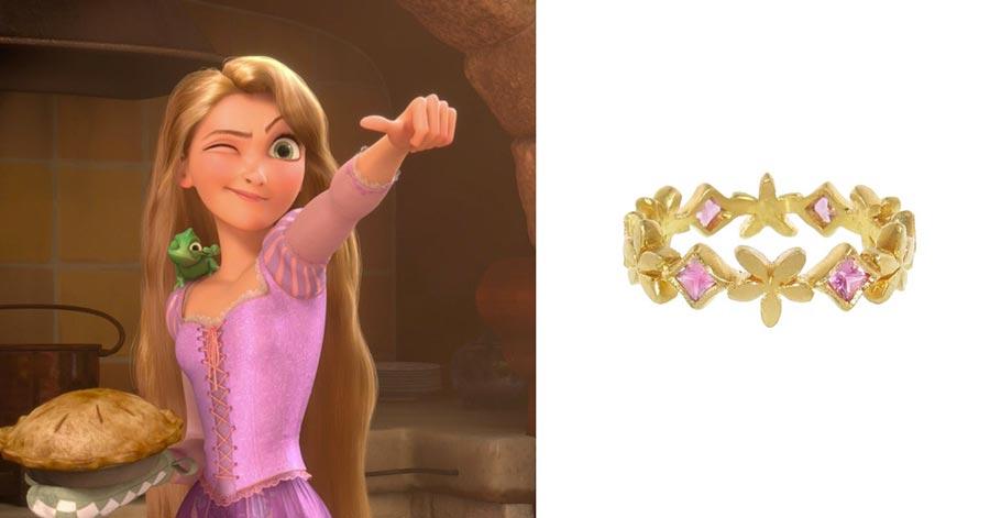помолвочные кольца в стиле принцесс disney 4