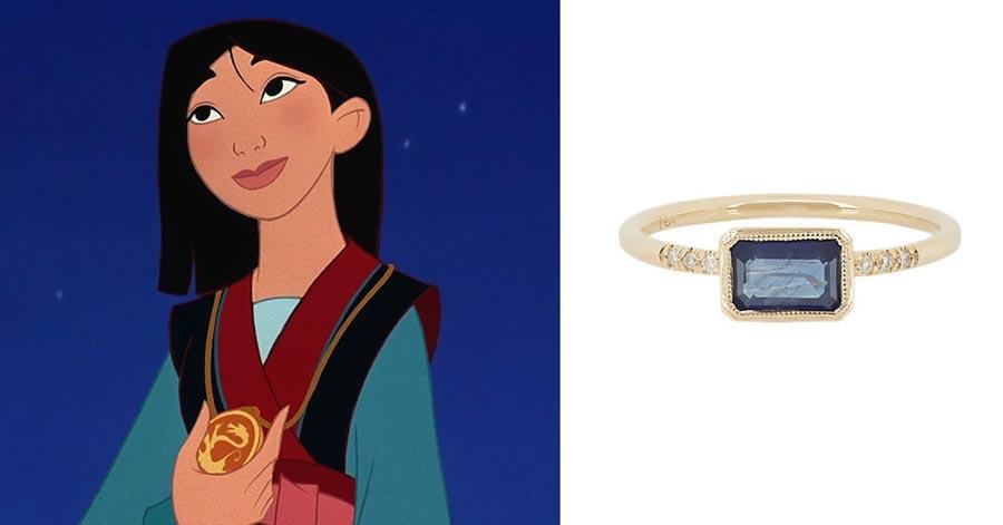 помолвочные кольца в стиле принцесс disney 6