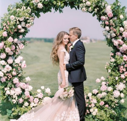 Розовое облако для Иры и Максима