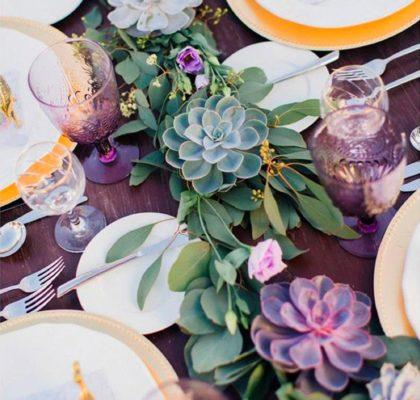Свадьба в фиолетовом цвете – 7 сочетаний