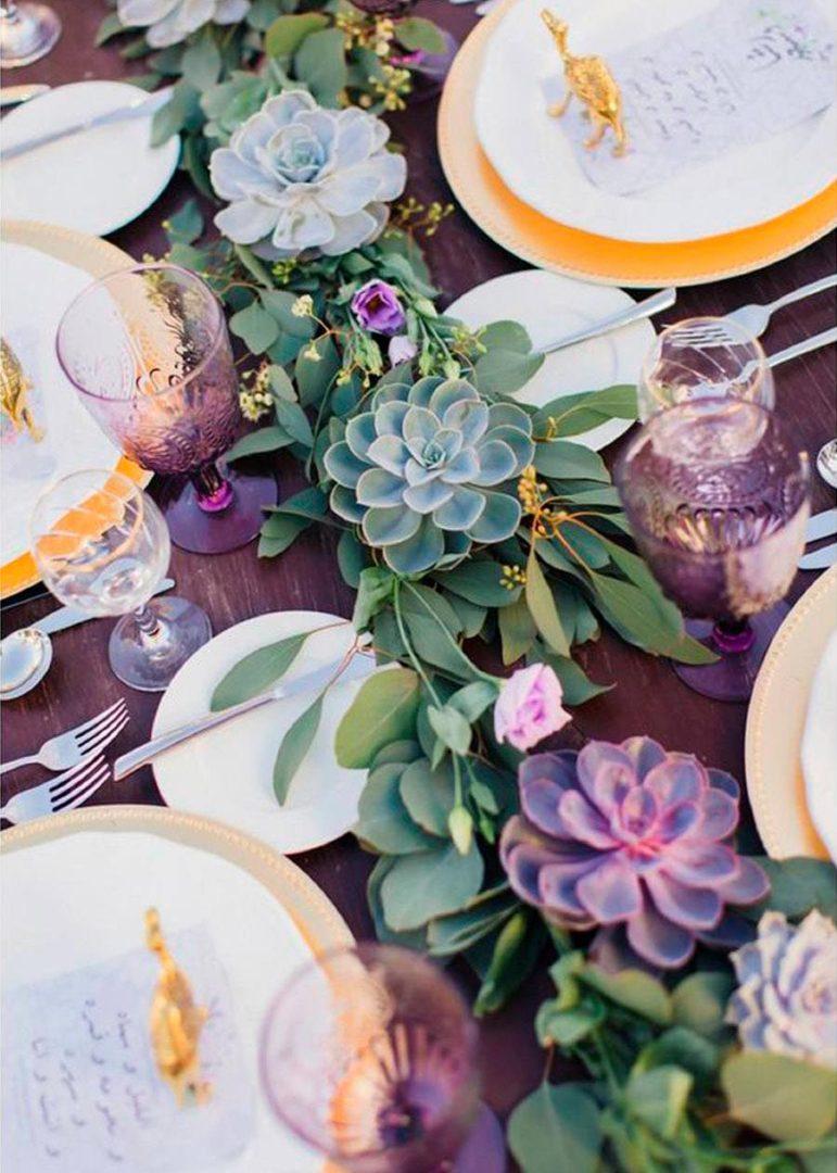 свадьба в фиолетовом цвете 1