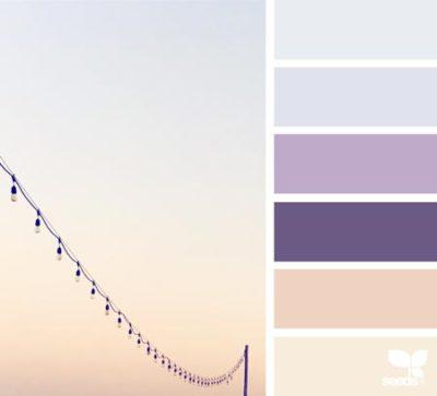 свадьба в фиолетовом цвете 16