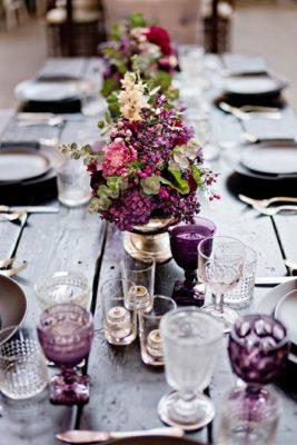 свадьба в фиолетовом цвете 2