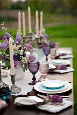 свадьба в фиолетовом цвете 3