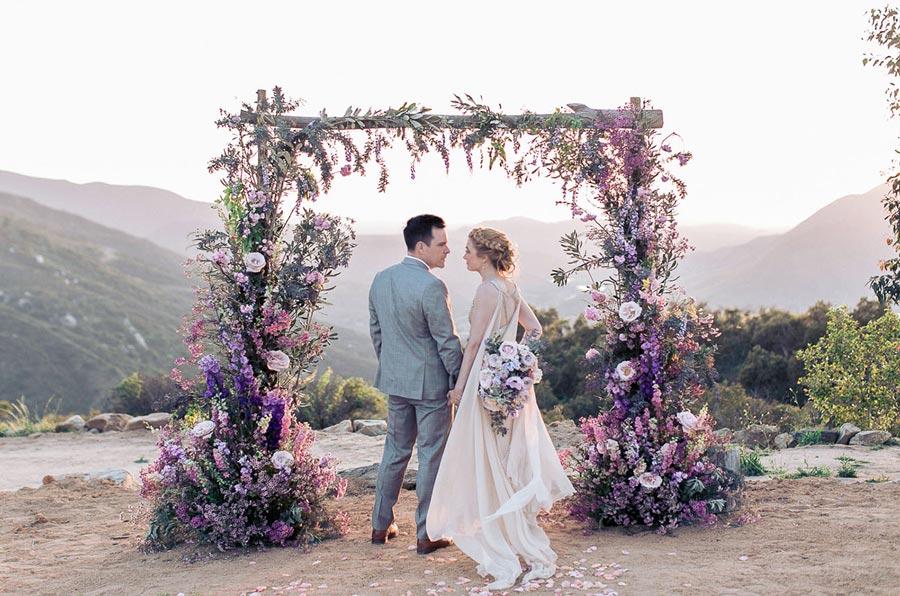 свадьба в фиолетовом цвете 4