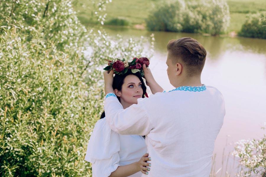 современная славянская свадьба ольги и евгения 6